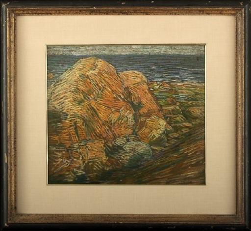 coastal rocks by charles salis kaelin