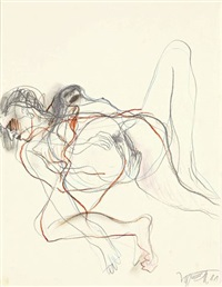 liebespaar (+ etching; 2 works) by wolf vostell