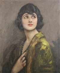portrait of a lady by john hodgson campbell