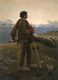 pastor del pirineu by dionisio baixeras y verdaguer