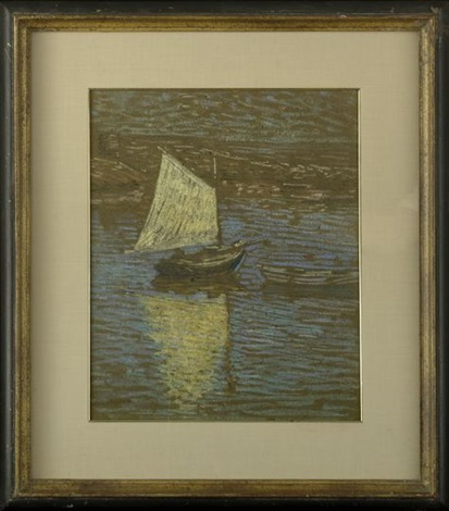 sailboat by charles salis kaelin