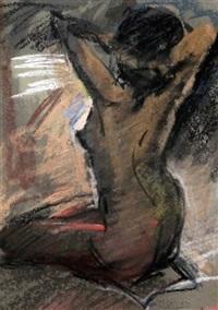 kneeling female nude by sherree valentine daines