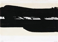 lithographie no. 39 by pierre soulages