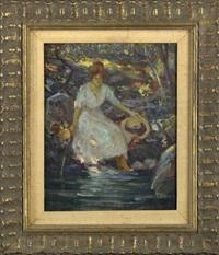 by the brook by howard logan hildebrandt