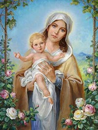 madonna med barnet by heinz tesar