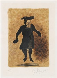 tartuffe from the series regards sur paris by georges braque