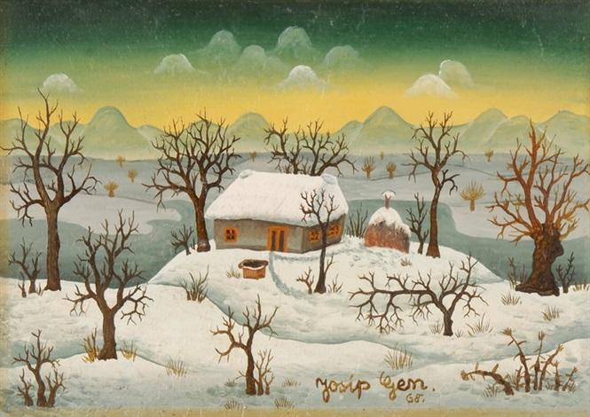 josip-generalic-häuschen-im-winter-bei-sonnenuntergang.jpg