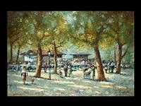 der hirschgarten in münchen by christian jereczek