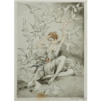 white wings by louis icart