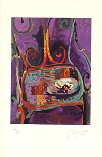 la chaise by georges braque
