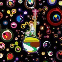 马克斯和赛门在怪异世界 by takashi murakami
