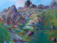 paysage de montagne by pierre-yves gabioud