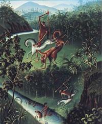 balinesische legende (balinese legend) by walter spies