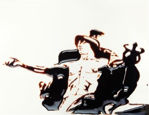 hermes from pictures of chocolate by vik muniz