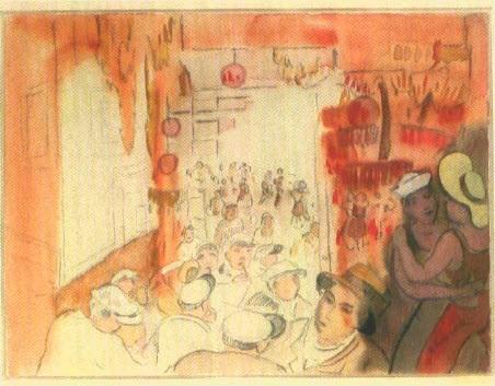 tanz in der matrosenkneipe by heinrich ehmsen
