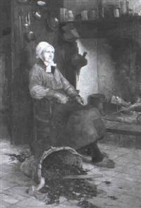 bäuerinin kücheninterieur by alberto vianelli