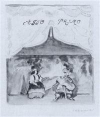 orlando und angelica by erich klossowski