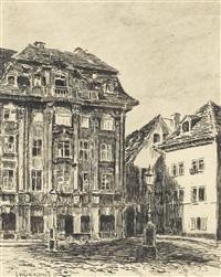 stadtpartie mit alter fassade by luigi kasimir