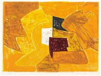 composition orange by serge poliakoff