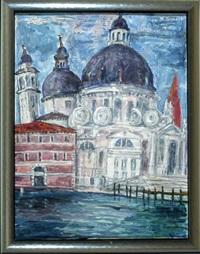 santa maria della salute am canale grande in venedig by michaela krinner