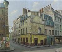 a rue de casablanca, paris by rené dulieu