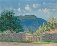 paisaje de mallorca by josep coll bardolet