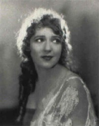 portrait of mary pickford by edwin bower hesser