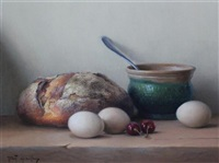 table top still life by robert chailloux