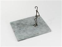 ohne titel (stehende figur) by frank dornseif
