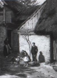 ländliche idylle by ottmar hendschel