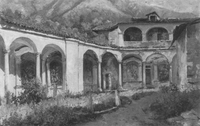 klosterhof in margozzopiemont by maximilian von fichard