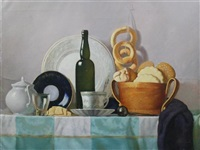 table top still life by nikolaj pavlovic tolkunov