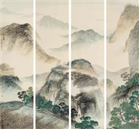 early spring (in 4 parts) by wu tai