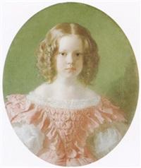 bildnis der sechsjährigen baronesse natalie von uexküll by wilhelm heinrich fussli