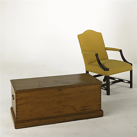 blanket box armchair 2 works by truman bliss