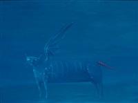 die blaue katze by ivan kochkarev