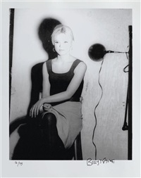 portrait d'edie sedgwick (+ 2 others; 3 works) by billy name