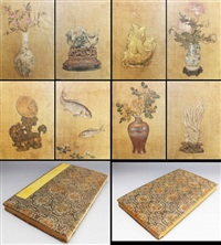 album of still live paintings by anonymous-chinese (qing dynasty)