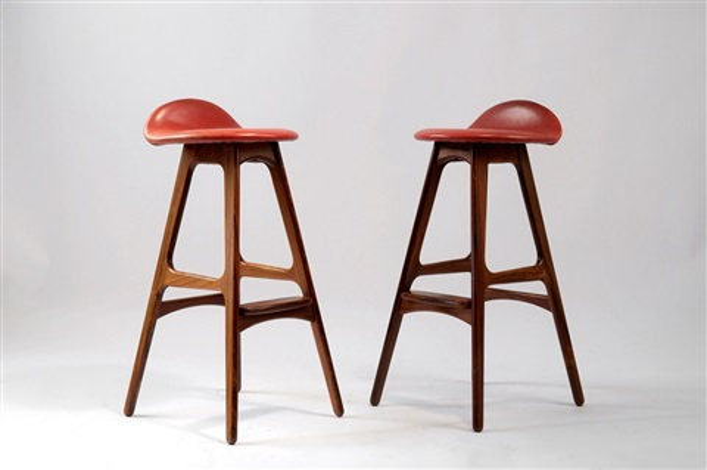 Barstühle zwei barstühle od 61 by erik buck on artnet