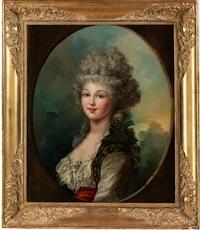 portrait einer jungen, anmutigen dame by spanish school (18)