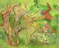 bacchantische szene by bernard hasler