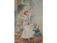 the arab dancer by fabio fabbi