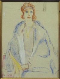 portrait of a woman by jonathan scott