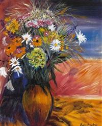 bunter wiesenblumenstrauss by gisela modersohn-meyer