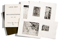 occupations, 1960. complete portfolio by asger jorn