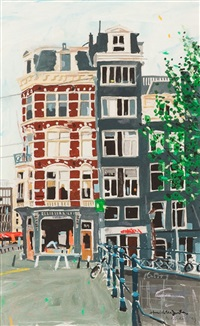 buildings, amsterdam by hamish macdonald