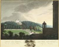 ansichten ludwigsburgs (portfolio of 6) by friedrich weber