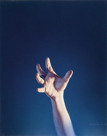 hand by gottfried helnwein