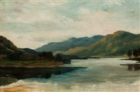 highland loch by james alfred aitken