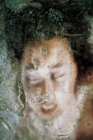 物语-水、空气和肖像 (story-water, air and portrait) by shi chong